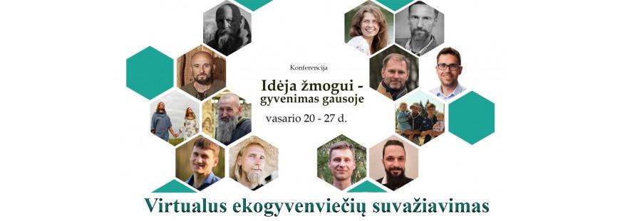 Ekogyvenviečių virtualus suvažiavimas - konferencija 2021